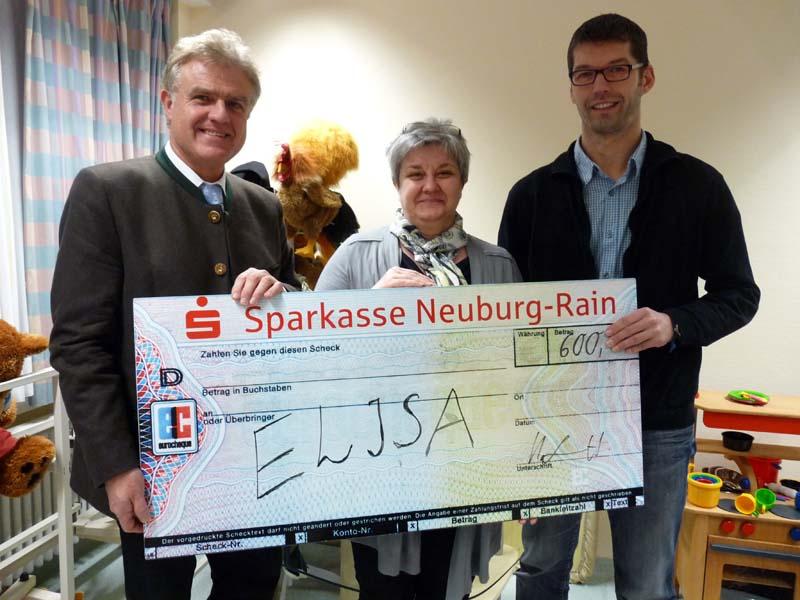 Spendenübergabe Elisa 2014